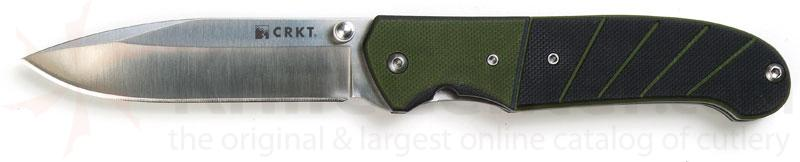 Columbia River Ignitor Sport Assisted 3.38 inch Polished Plain Blade