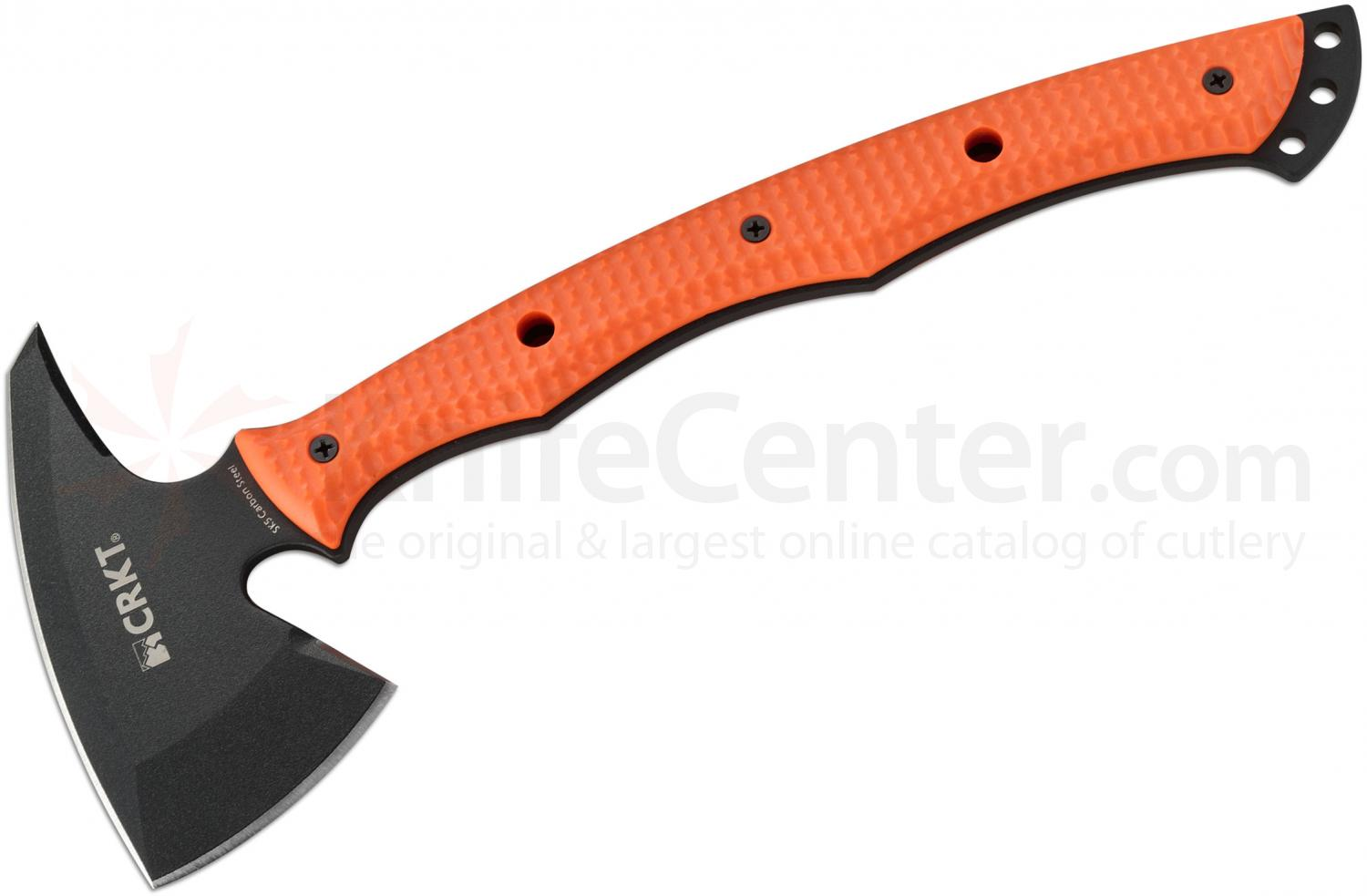 Columbia River 2725ER Kangee Emergency Rescue T-Hawk Tomahawk with Spike, 13.75 inch Overall, Kydex Sheath