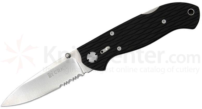 Columbia River Lake 111Z2 Folding Knife 3.125 inch Satin Combo Blade