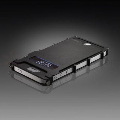 Columbia River iNoxCase Stainless Steel iPhone 5 and 5S Case, Black