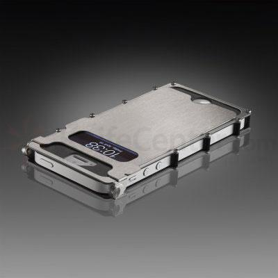 Columbia River iNoxCase Stainless Steel iPhone 5 and 5S, Silver