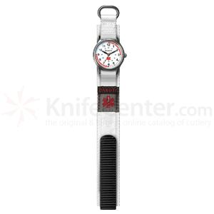 Dakota Watch Company Nurse Watch, White nylon band
