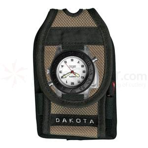 Dakota Watch Company Dakota Versa Pack, Flashlight Watch, Pen, Retrac, Khaki