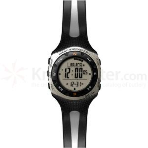 Dakota Watch Company Weathermaster V, Digital Dial, Black & Gray PU Strap