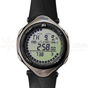 Dakota Watch Company Digital Three Sensor, Bronze Case, Black PU Strap