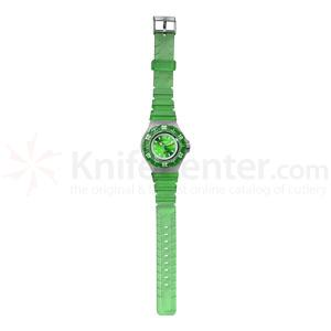 Dakota Watch Company Jelly, Green Dial, Green Jelly Bezel & Strap