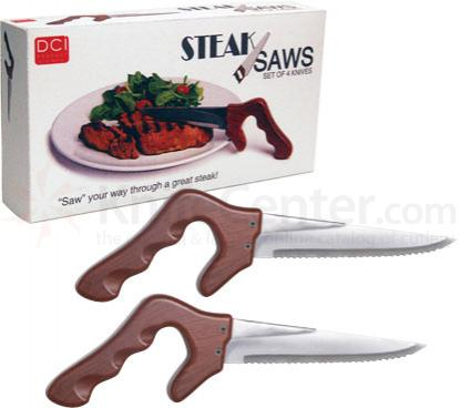Decor Craft Set of 4 Steak Saw Knives