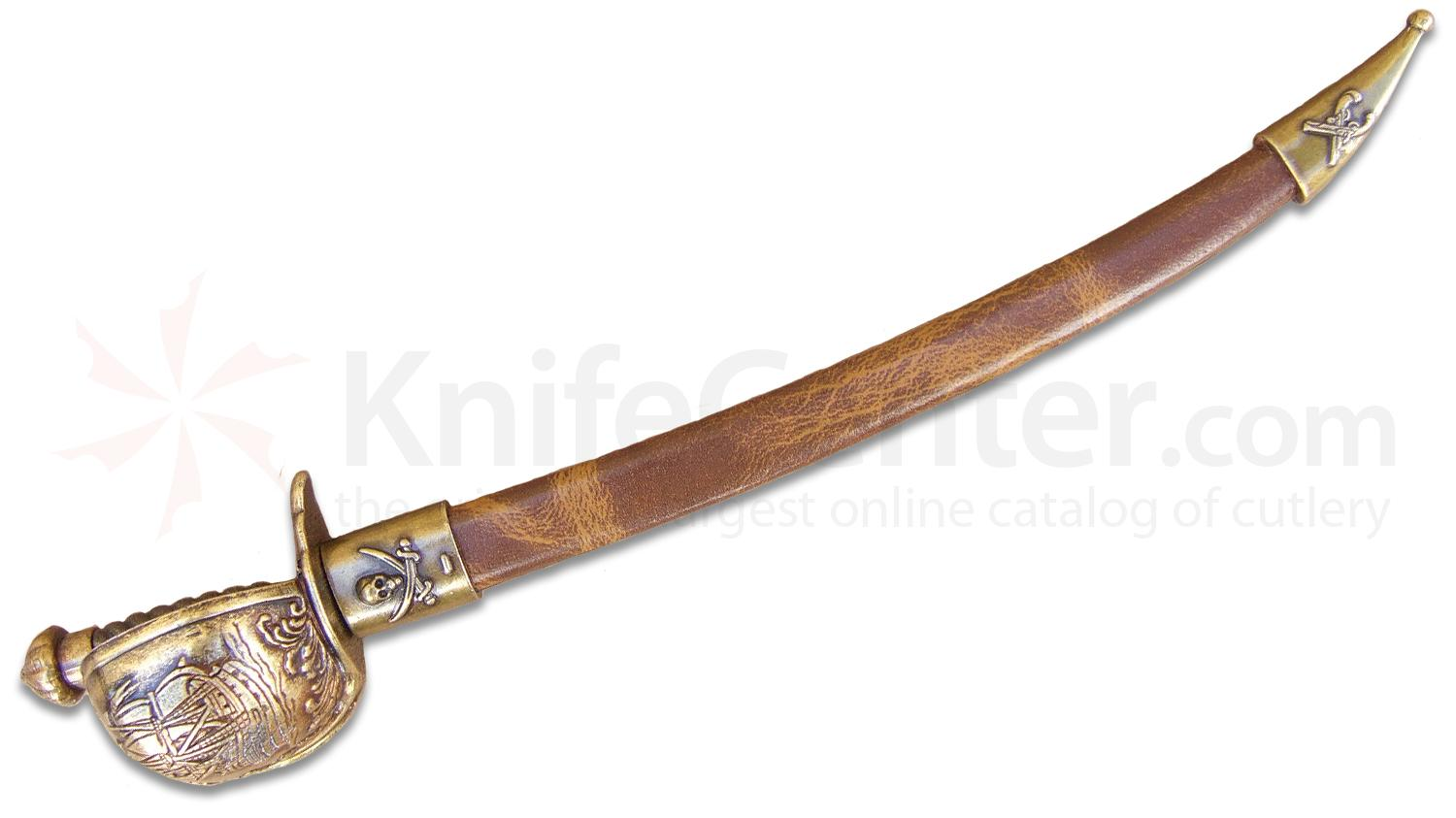 Denix Pirate Sabre Letter Opener with Scabbard