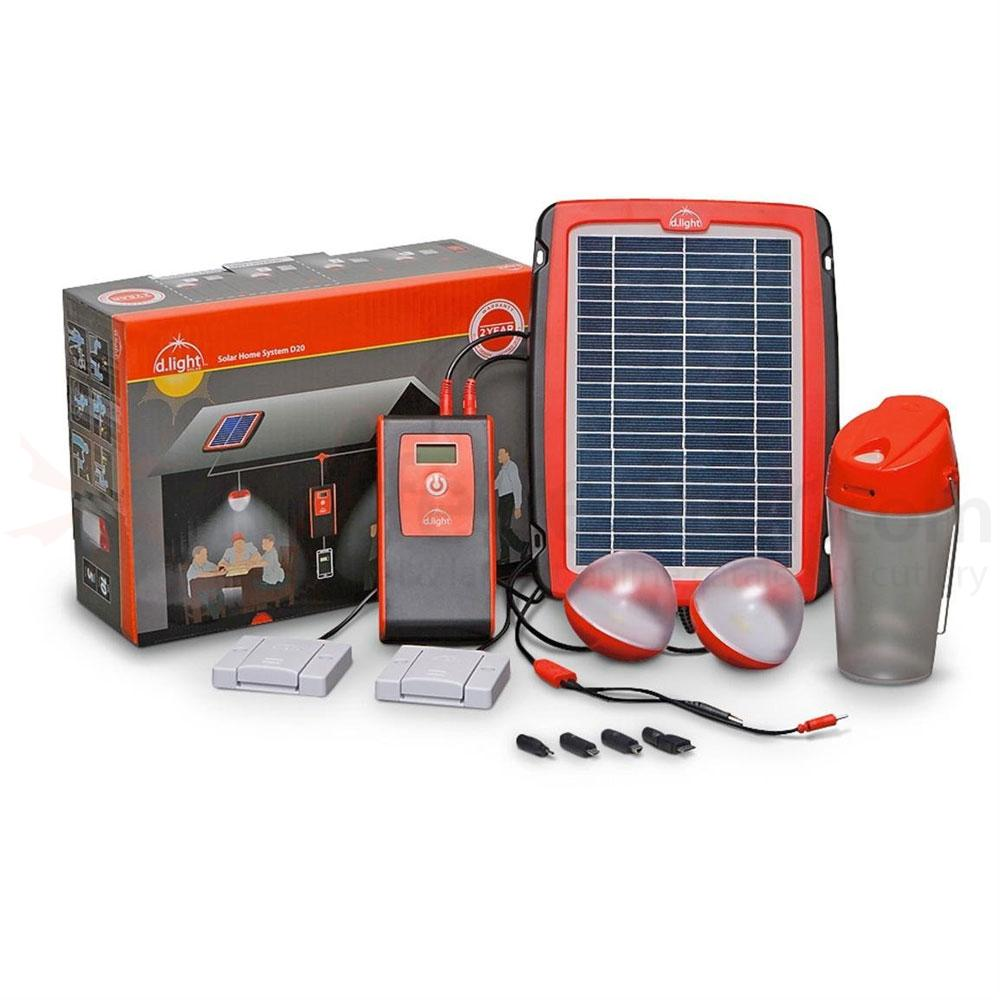 d.light Solar D20 Solar Home System Kit