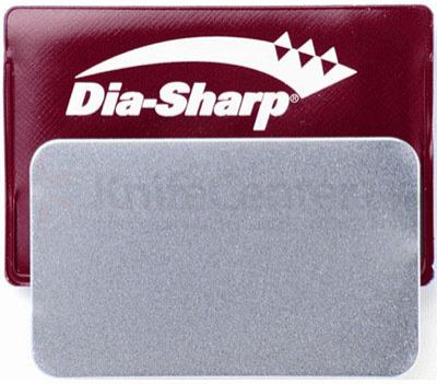 DMT D3F 3 inch Dia-Sharp Sharpener  inchCredit Card inch, Fine