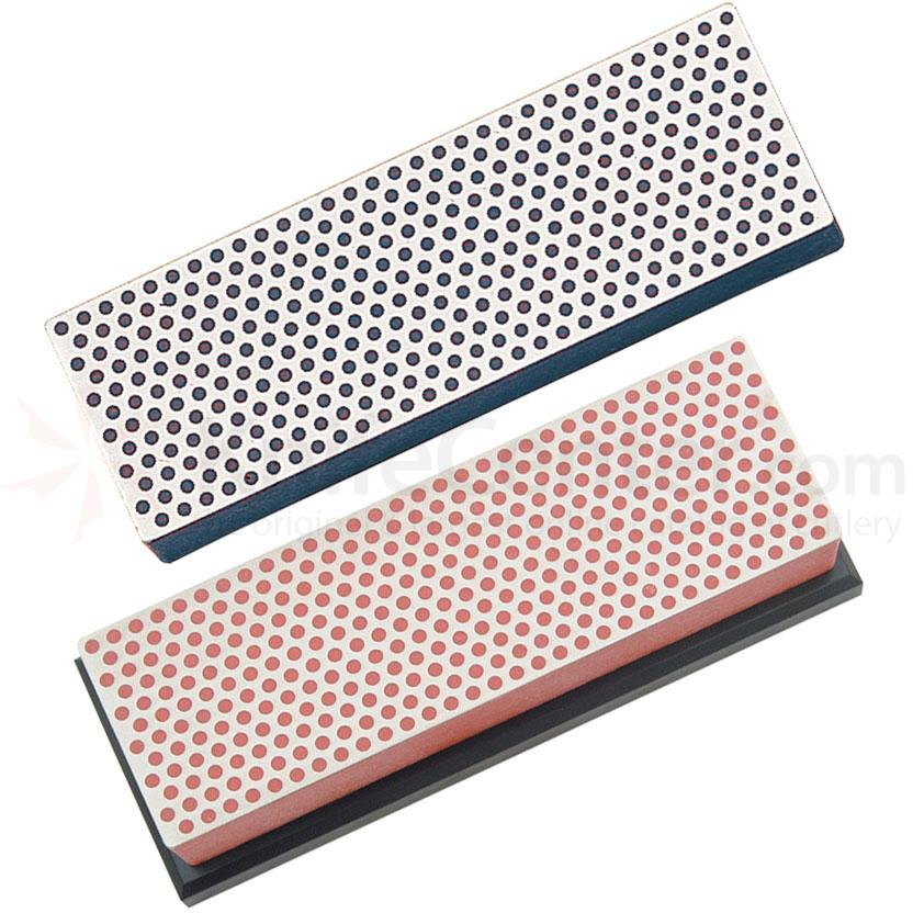DMT W6FC 2 Piece 6 inch Diamond Whetstone Sharpening Kit, Fine and Coarse