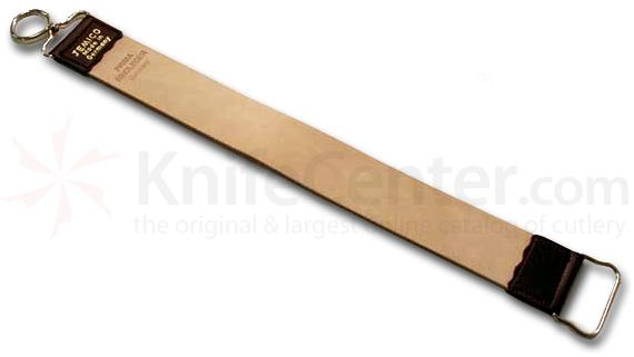 Jemico German Razor Strop 18 inch Rindleder Leather Single Sided