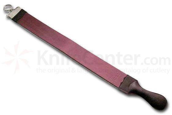 Jemico German Razor Strop 23 inch Long Red Russian Leather with Handle