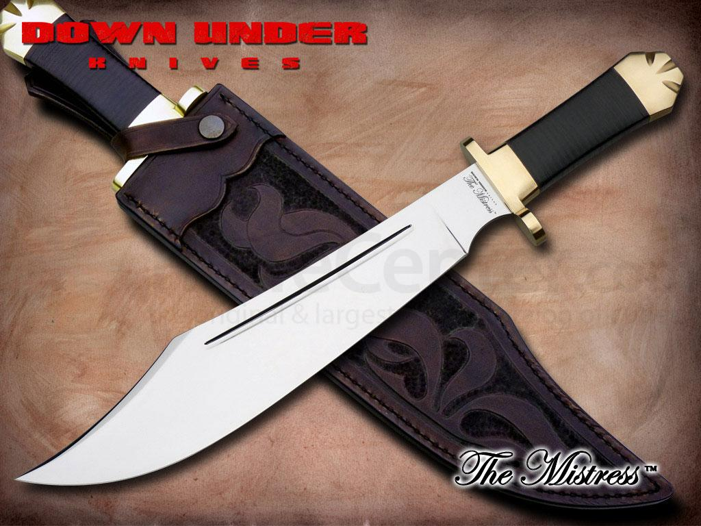 Down Under Knives The Mistress Bowie Hunting Knife 13
