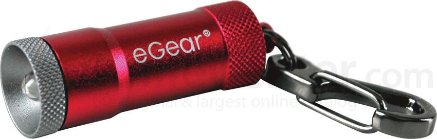 eGear PICO LED Zipper Lite, 10 Lumens, Red