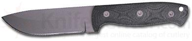 Entrek Javalina Fixed Blade 9 inch Overall With 4-5/16 inch Skinner Blade