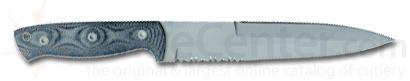 Entrek Commando Fixed Blade 11-3/8 inch Overall With 6-7/8 inch Combo Blade
