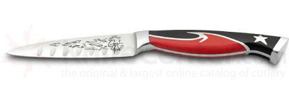 Ergo Chef Guy Fieri Knuckle Sandwich 4 inch Paring Knife -  inchLil' Guy inch (Model 5040)