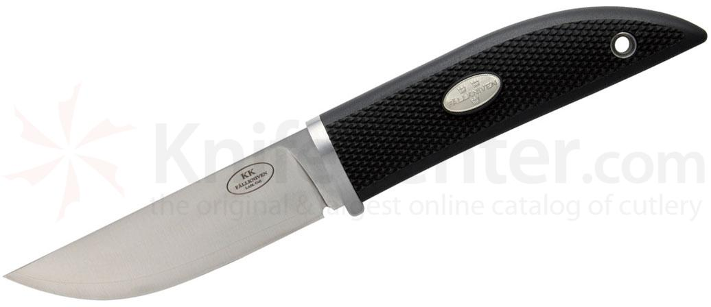 Fallkniven KKz Kolt Knife Fixed 3.35 inch Satin Blade, Thermorun Handle, Zytel Sheath