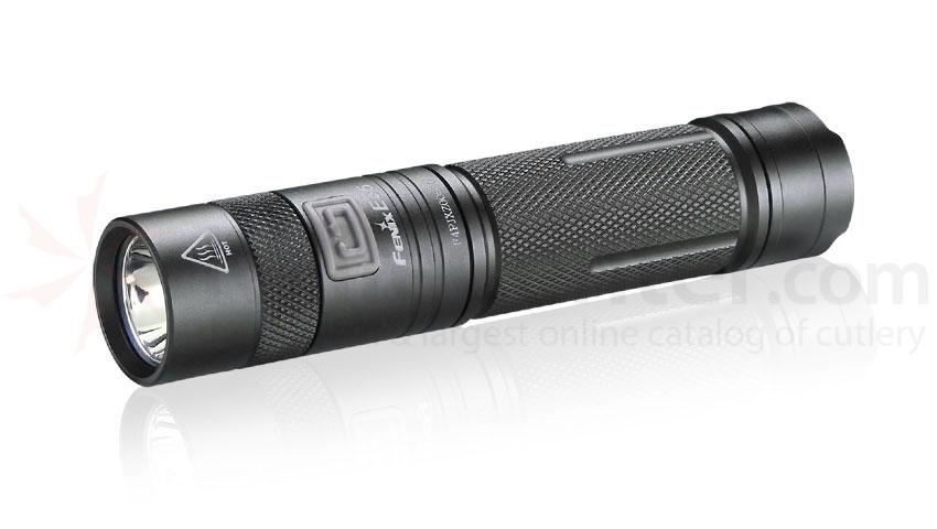 Fenix E35 LED Flashlight, Black, 225 Max Lumens