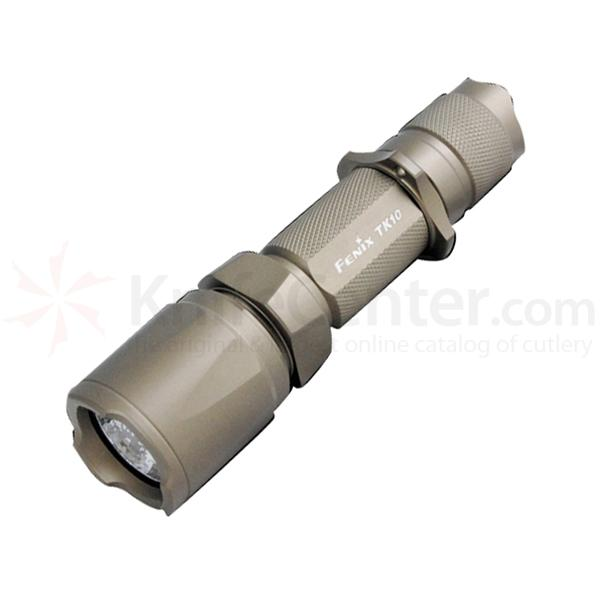 Fenix Tactical Flashlight OD Green Aluminum Body Up to 225 Lumens 2 x CR123 - best tactical flashlight