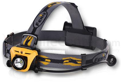 Fenix HP05 LED Headlamp, Orange, 350 Max Lumens