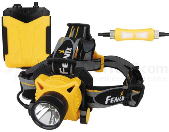 Fenix HP20R5 Variable Output Waterproof Outdoor LED Headlamp, 230 Max Lumens
