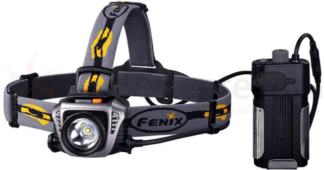Fenix HP30 LED Headlamp, Gray, 900 Max Lumens