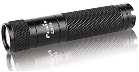 Fenix LD15 LED Flashlight, Black, 117 Max Lumens