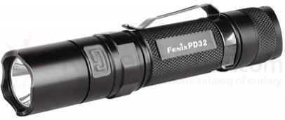 Fenix PD32 LED Flashlight, Black, 340 Max Lumens