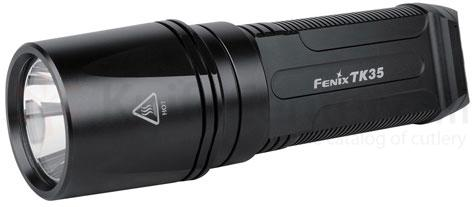 Fenix TK35 LED Flashlight, Black, 900 Max Lumens
