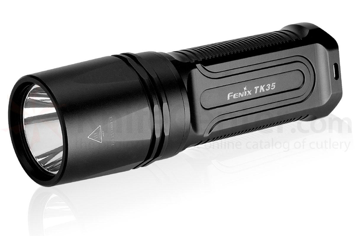 Fenix TK35 Tactical LED Flashlight, Black, 960 Max Lumens