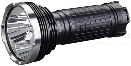 Fenix TK75 High-Intensity Three LED Flashlight, Black, 2600 Max Lumens