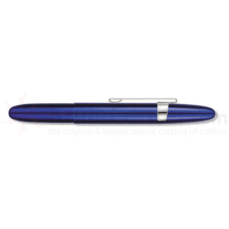 Fisher Space Pen Blueberry Translucent Bullet Pen with Clip