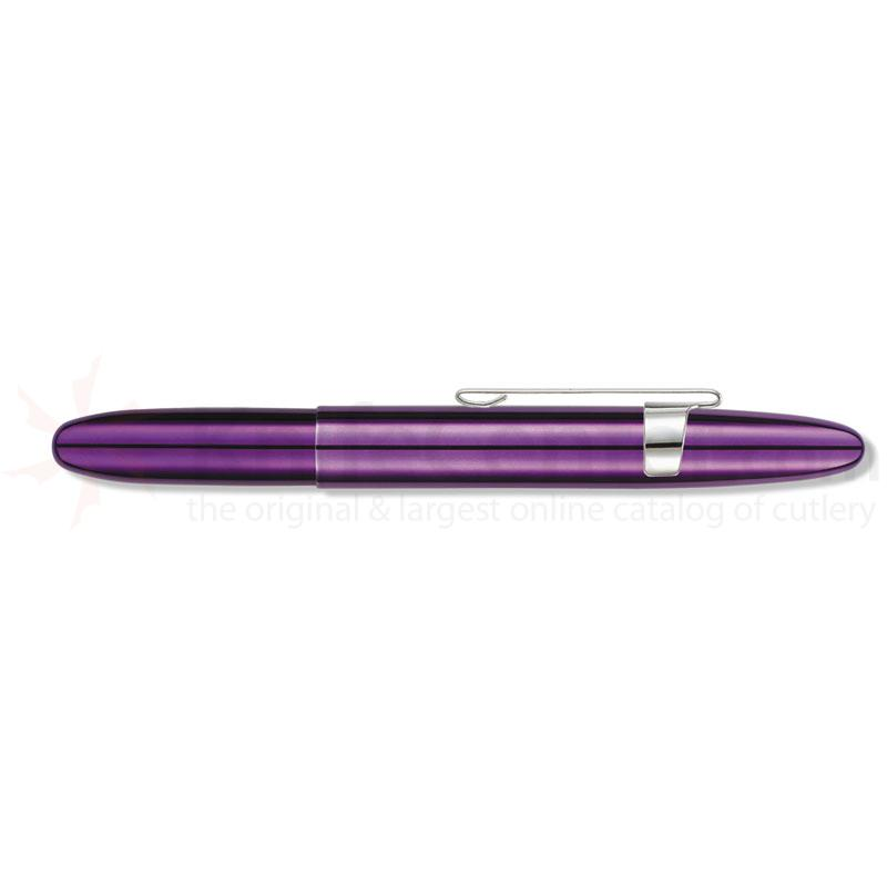 Fisher Purple Passion Bullet Space Pen with clip