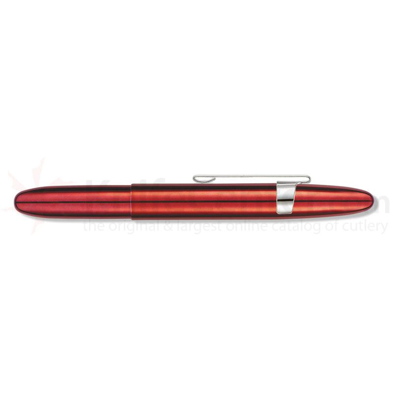 Fisher Red Cherry Translucent Bullet Space Pen with clip