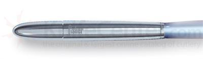 Fisher Chrome Finish Fisher Space Beam with Blue Light.