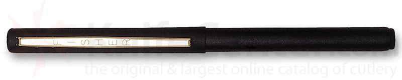 Fisher Stowaway Space Pen in Black with Anodized Aluminum with Clip