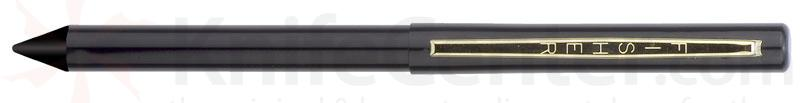 Fisher Stowaway Space Pen in Black with Anodized Aluminum with Clip and Stylus