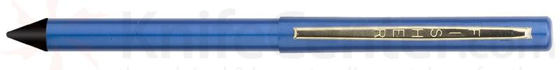 Fisher Stowaway Space Pen in Blue with Anodized Aluminum with Clip and Stylus