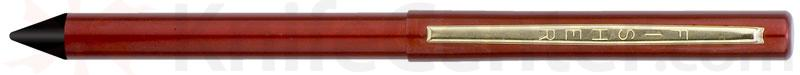 Fisher Stowaway Space Pen in Red with Anodized Aluminum with Clip and Stylus