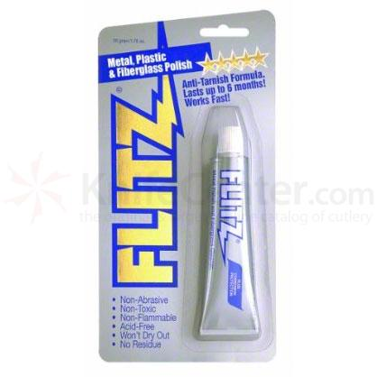 Flitz BP 03511 Metal, Plastic and Fiberglass Polish Paste - 1.76 oz. (50 g) Tube