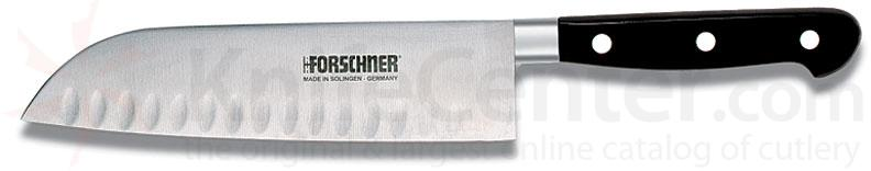 Victorinox Forschner Forged Stainless 7.0 inch Granton Edge Santoku Chef's Knife