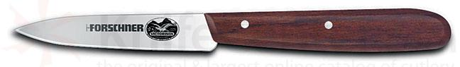 Victorinox Forschner Paring Knife 3.2 inch Stainless Steel Blade Rosewood Handle