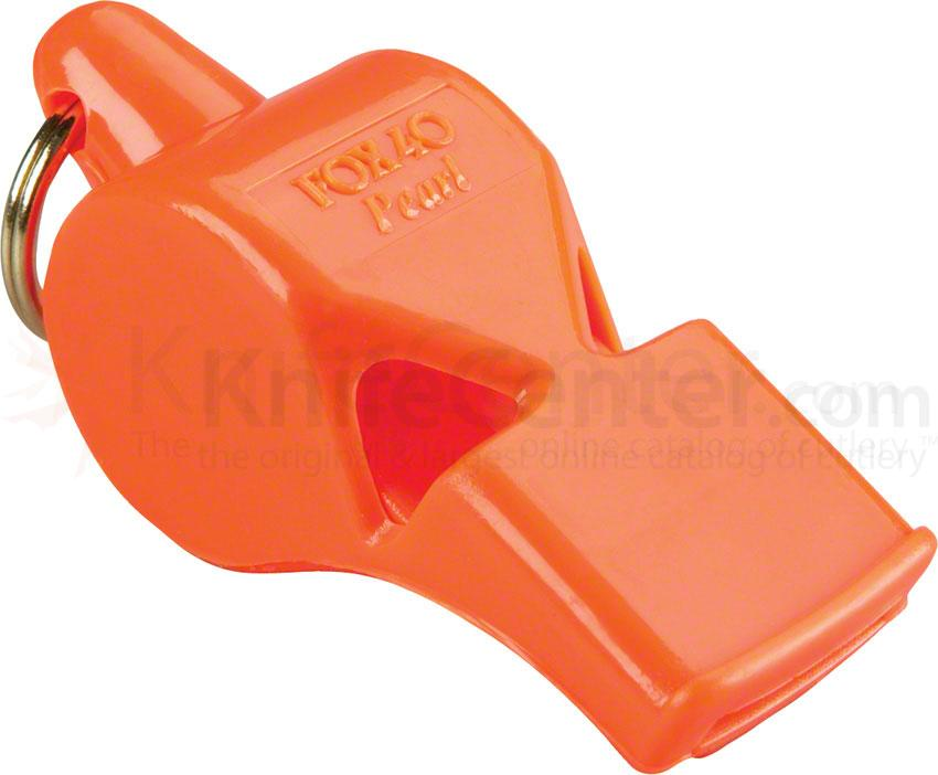 Fox 40 Pearl Safety Whistle, Orange