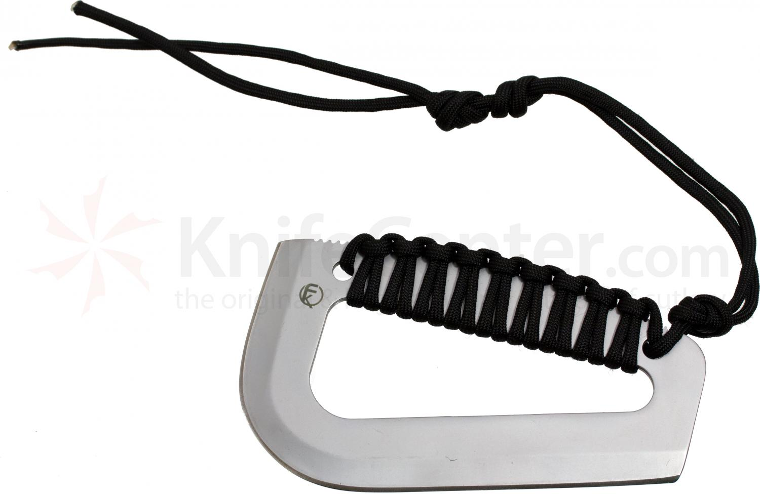 Fremont Knives Farson Blade Survival Tool, 6 inch Overall, Black Paracord Handle