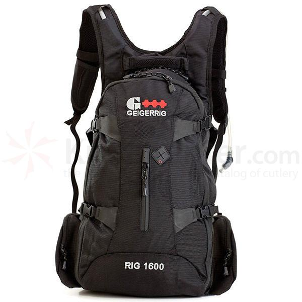 GEIGERRIG RIG 1600 Hydration Pack, Black (G4 1600BK)
