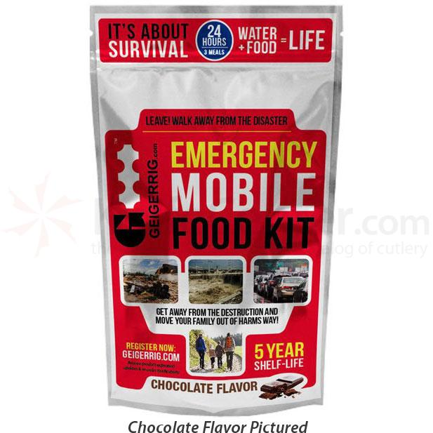 GEIGERRIG Emergency Mobile Food Kit, Vanilla (G3 RIG)