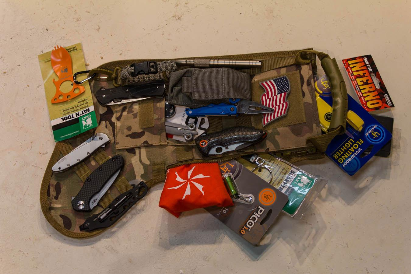 Tactical Christmas Stocking.Genpro Ruckup Navy Blue Camo Tactical Christmas Stocking With Molle Attachment
