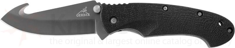 Gerber Profile™ 3.5 inch Folder Plain Blade Gut Hook with Nylon Sheath